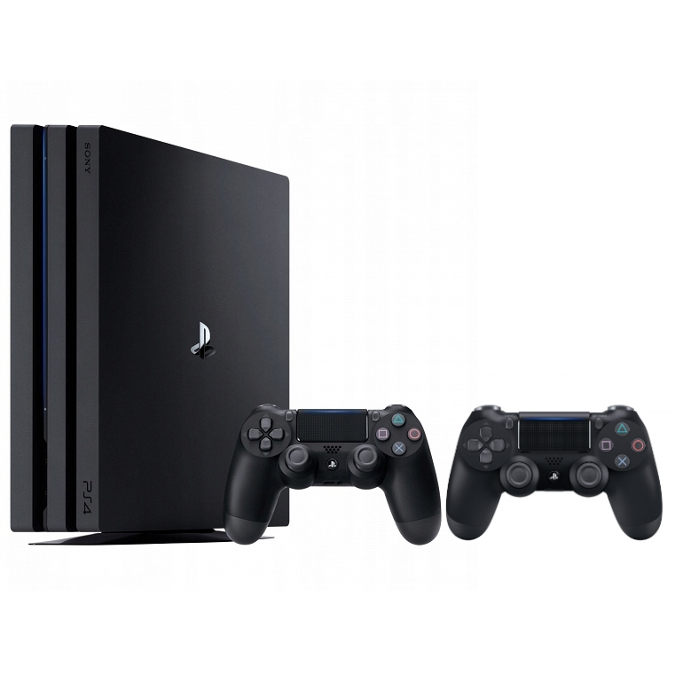 Sony Playstation 4 PS4 PRO 1TB + 2x PAD - KOMPLET