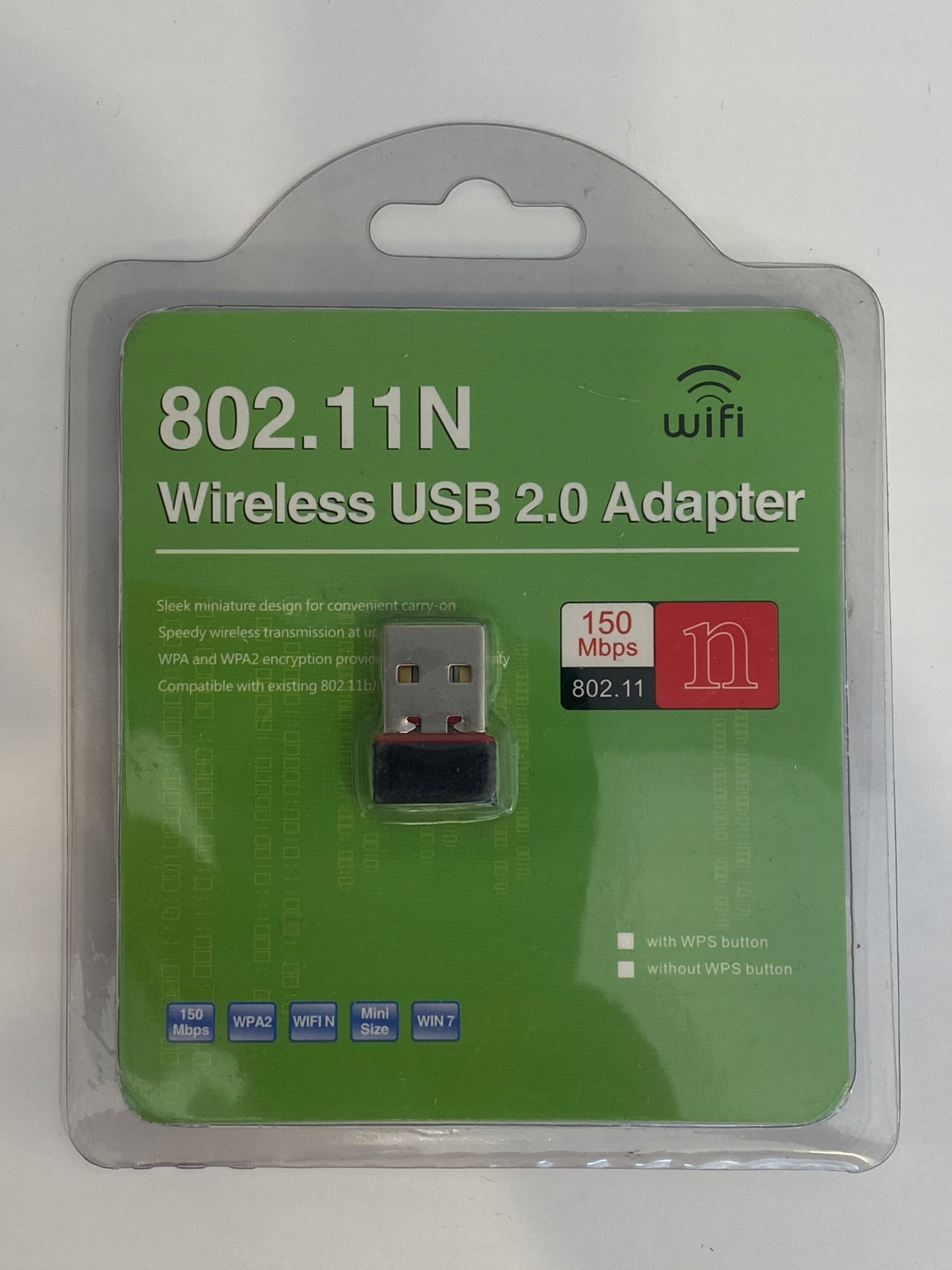 Adapter Wi-Fi 802.11N USB 2,0 do PC