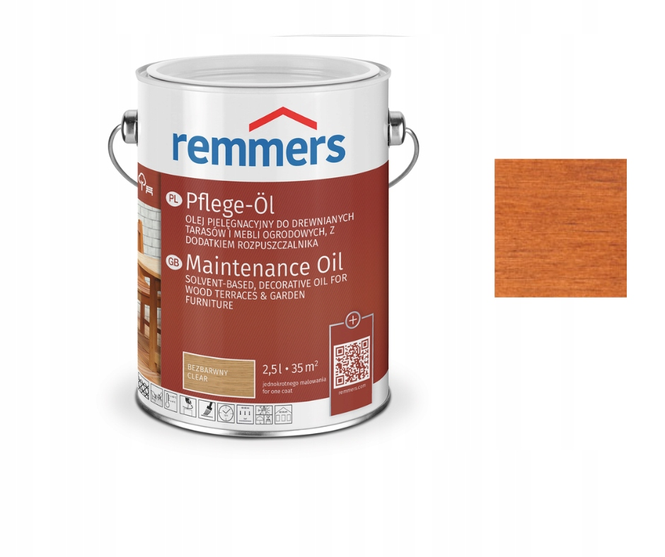 Remmers масло для террас, древесины 0,75 л ТИК