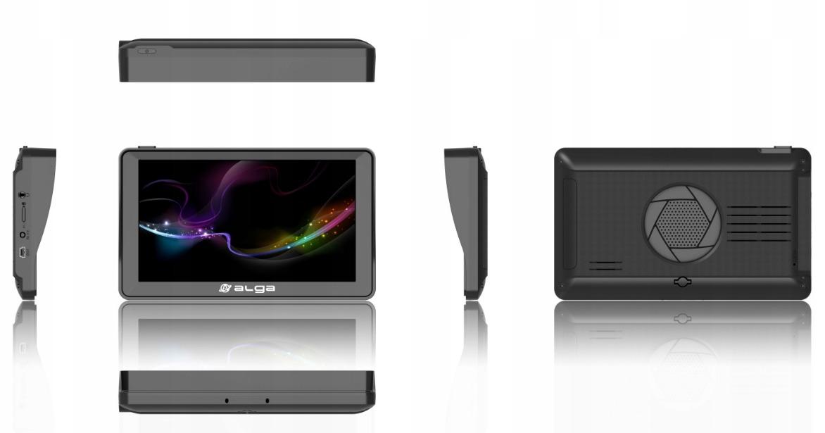 """GPS 7"""" NAWIGACJA iGO PRIMO TIR TRUCK ALKOMAT Model ALGA A7 HD FM"""