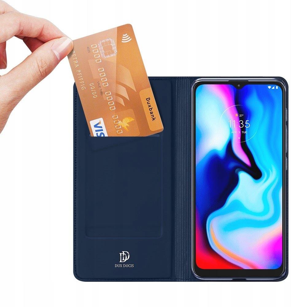 Etui z klapką+ szkło do Motorola G9 Play / E7 Plus Typ etui z klapką