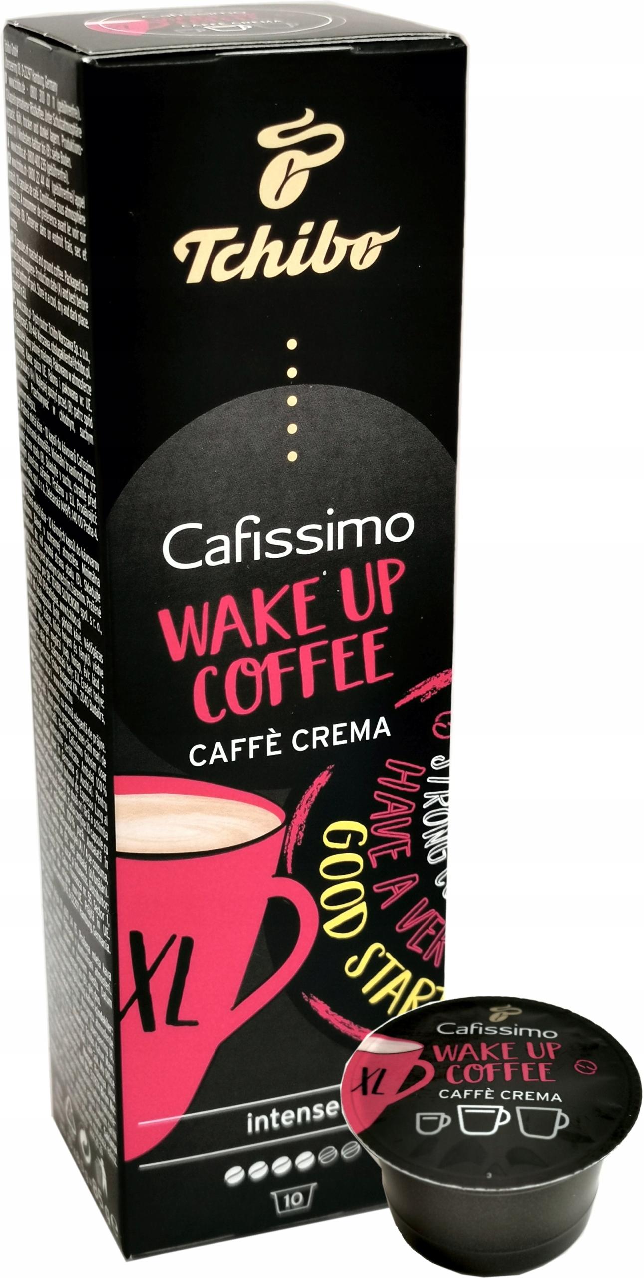 KAWA TCHIBO CAFISSIMO WAKE UP COFFEE CRAMA XL 10