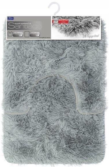 Kúpeľňový koberec SANTIAGO 2el svetlo šedý