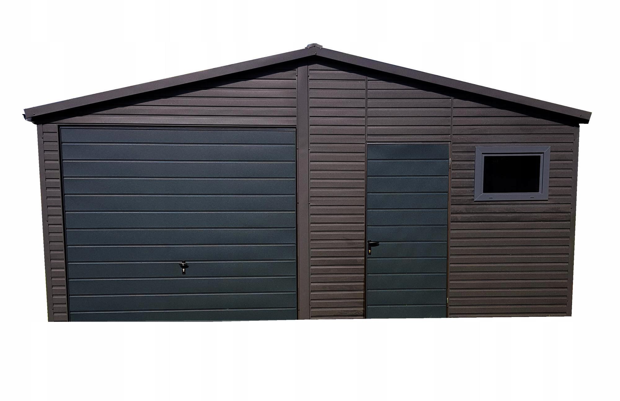 Tin Garage Blaszak Жестяные гаражи 6x6