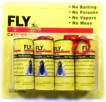 FLY STICKER 4 ШТ. ЛЕНТА для ловушек от комаров