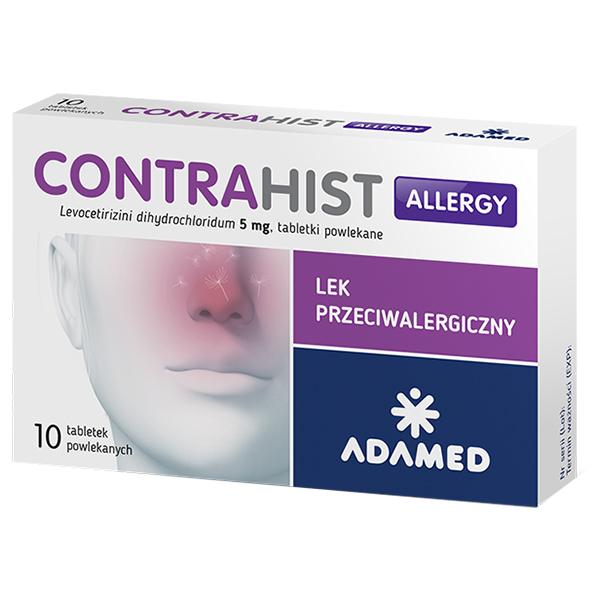 Contrahist Allergy alergia przeciwalergiczny 10x