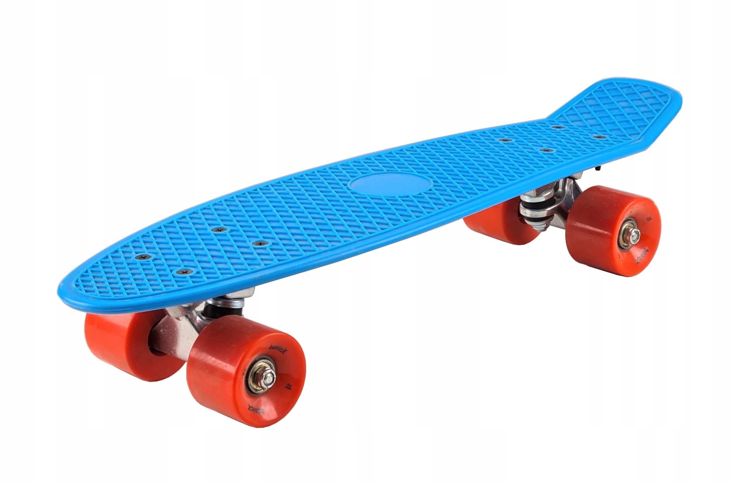 Fiszka skateboard doska ABEC-7 hrubé neónové kolesá
