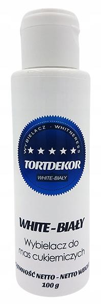 Wybielacz do Mas Cukierniczych Biały TORTDEKOR