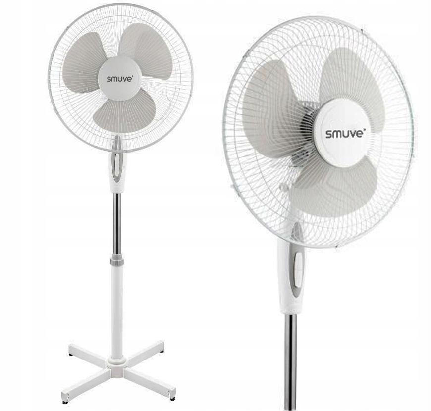 Напольный вентилятор, бесшумный вентилятор Smuve