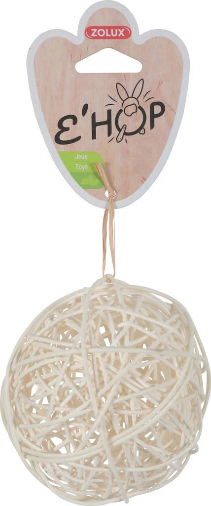 Мяч игрушка Мяч для КРОЛИКА КОШКА. УДИЛИЩА из ротанга