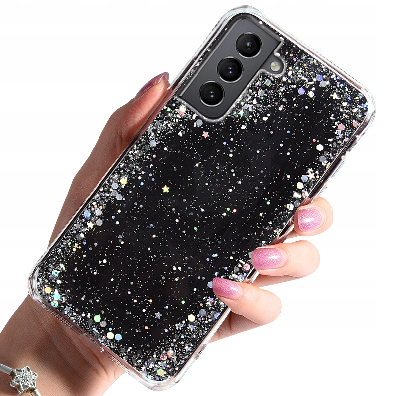 Etui do Samsung Galaxy S21 CASE BROKAT + SZKŁO 9H