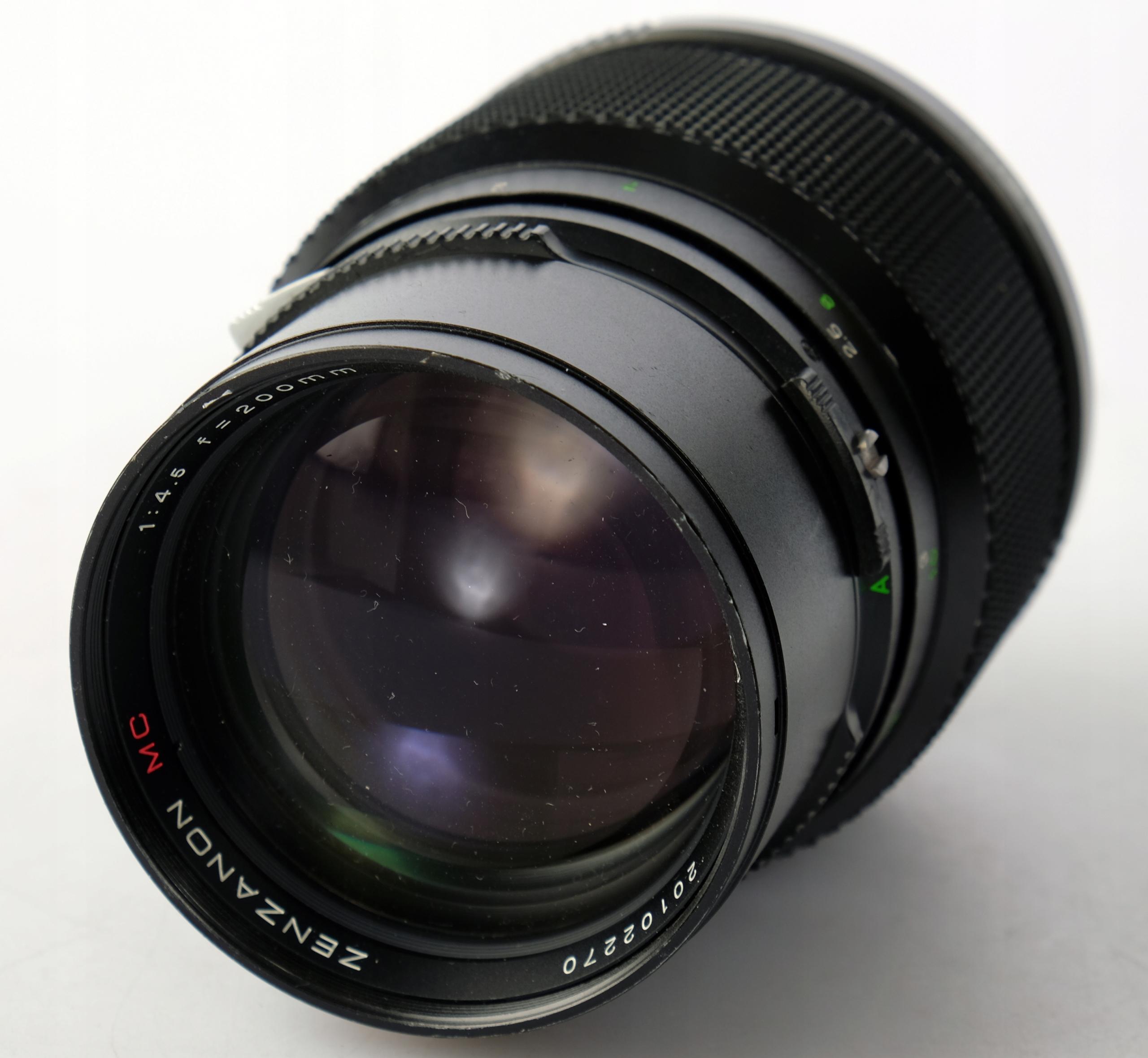 Bronica Zenza 200mm / 4.5 MC