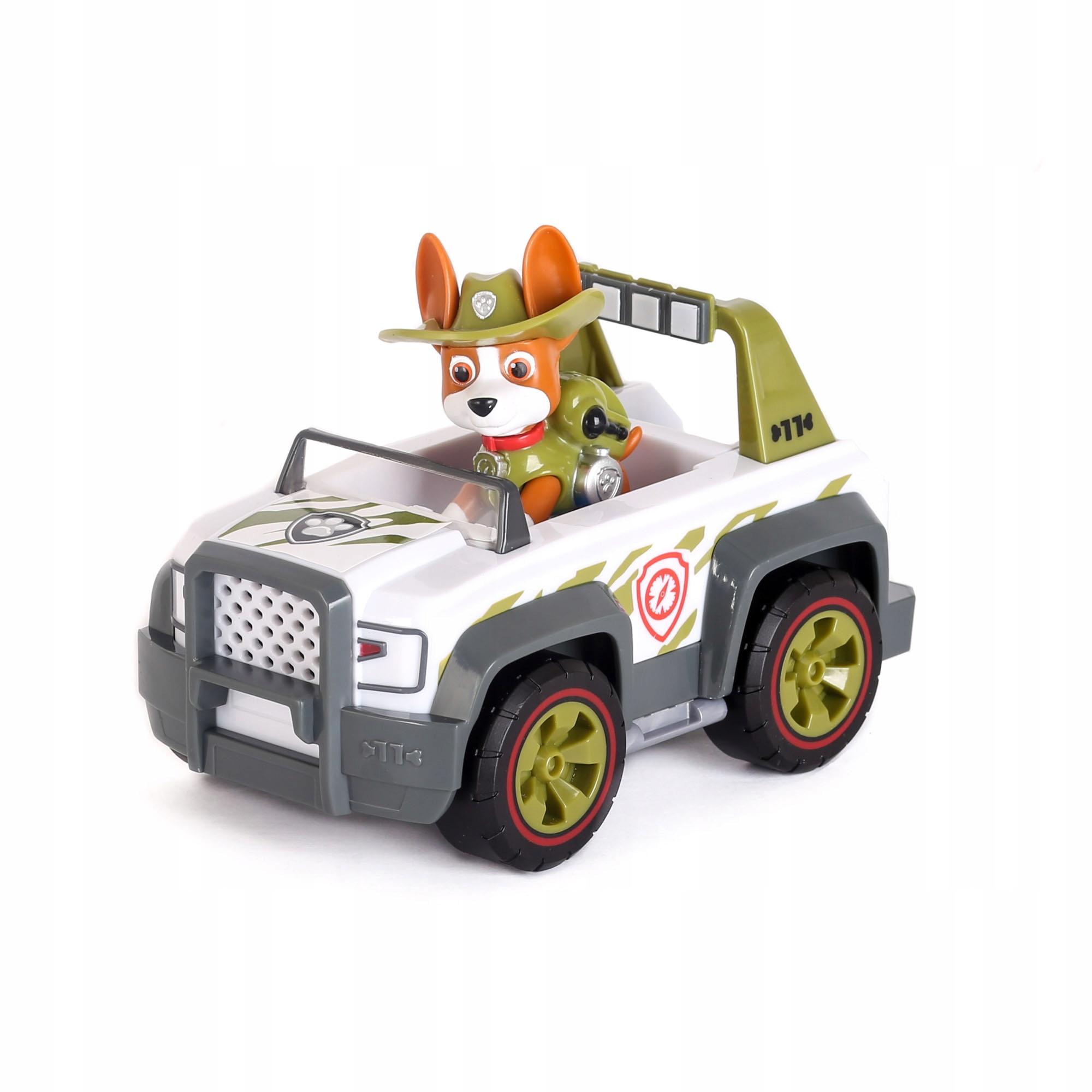 PSI PATROL TRACKER FIGURKA + AUTO JUNGLE RESCUE Model Jungle Rescue