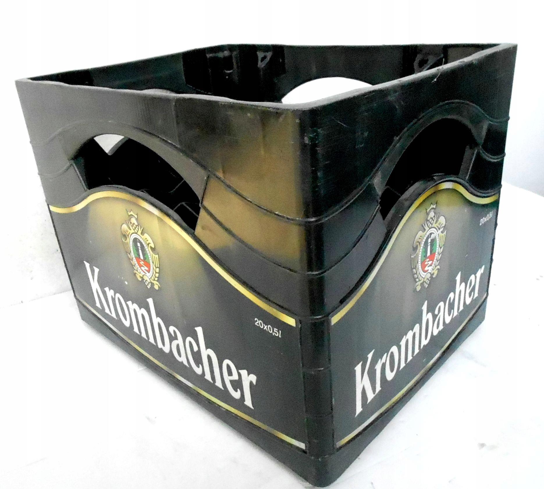 Skrzynka po piwie KROMBACHER 20 x 0,5 l, oryginał