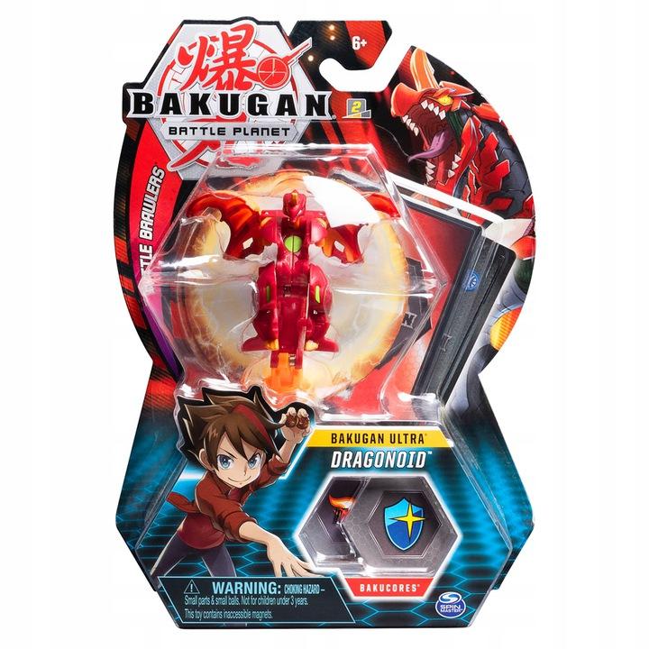 Spin Master Bakugan Kula Deluxe Dragonoid Red