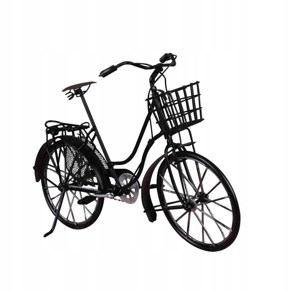 1 ks Kreatívny veslovací trenažér remeselnícky retro model bicykla