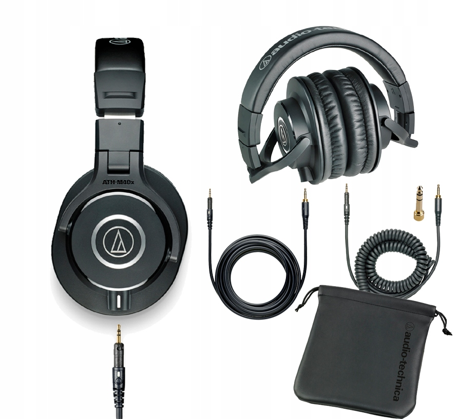Audio-Technica ATH-M40X Zatvorené slúchadlá
