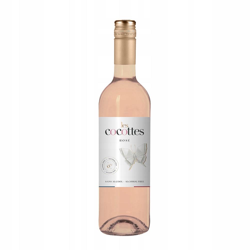 Вино безалкогольное 0% Rose Les Cocottes 750мл