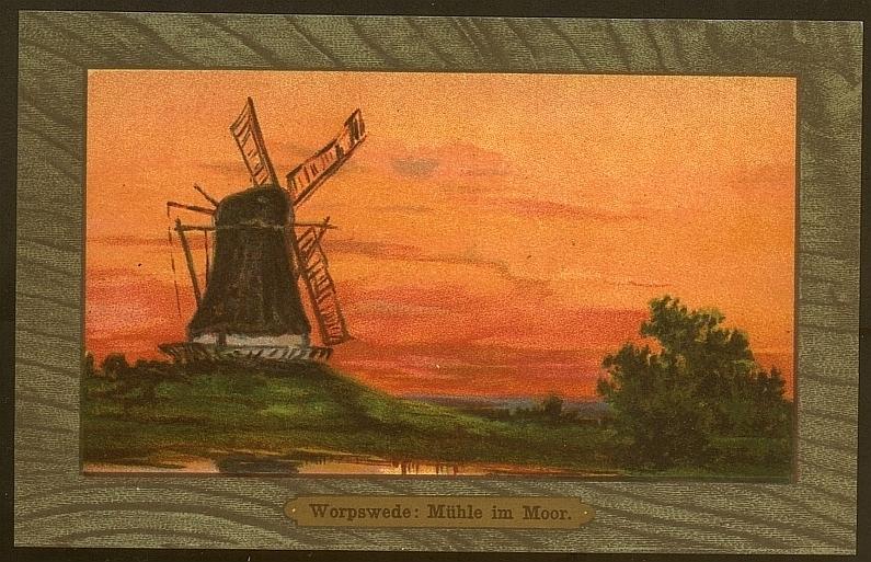Worpswede: Mühle im Moor - NKG 1907 г.