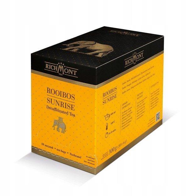 Bylinný čaj Richmont Rooibos Sunrise - 50x6g