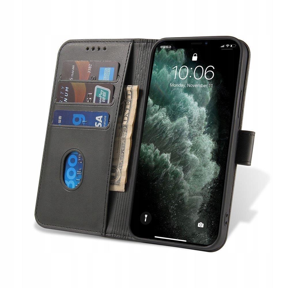Etui z Klapką Magnet Case+ szkło do Xiaomi Redmi 9 Dedykowany model Xiaomi Redmi 9