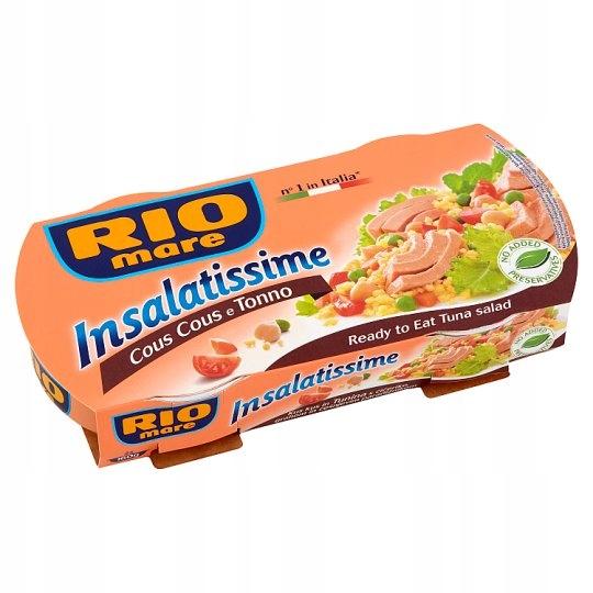 Item PD RIO MARE sałatka z tuńczykiem z kuskusem 2x160g
