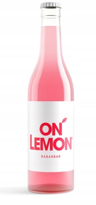 ON LEMON Rabarbar 330 ml Lemoniada