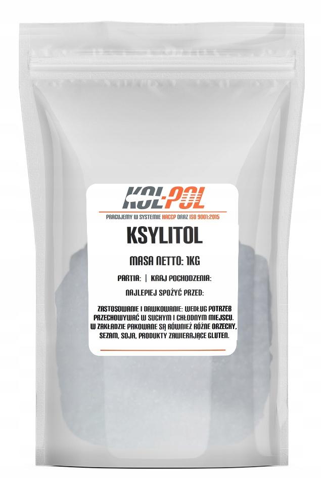 Cukier brzozowy ksylitol xylitol 1kg 1000g