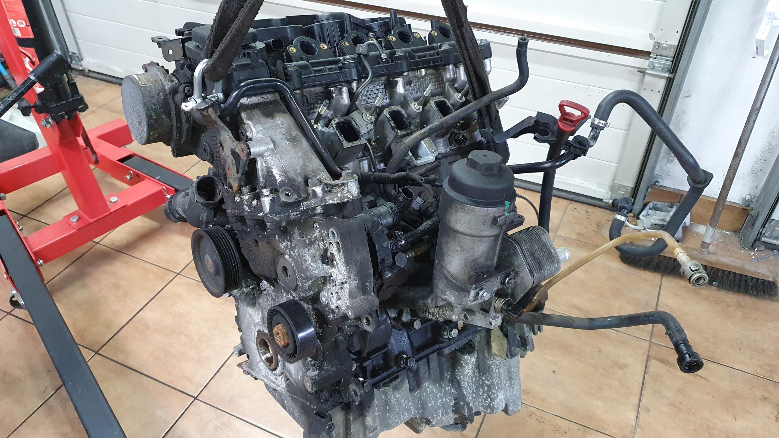 двигатель bmw e60 e61 дизель 520d m47 163km przedlift