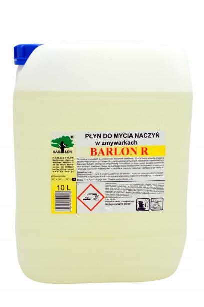BARLON R kvapalina na umývanie riadu do umývačky riadu 10 L