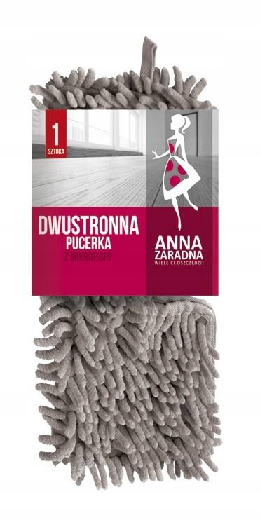 Двусторонняя швабра пуцерка с микрофиброй Anna Zaradna
