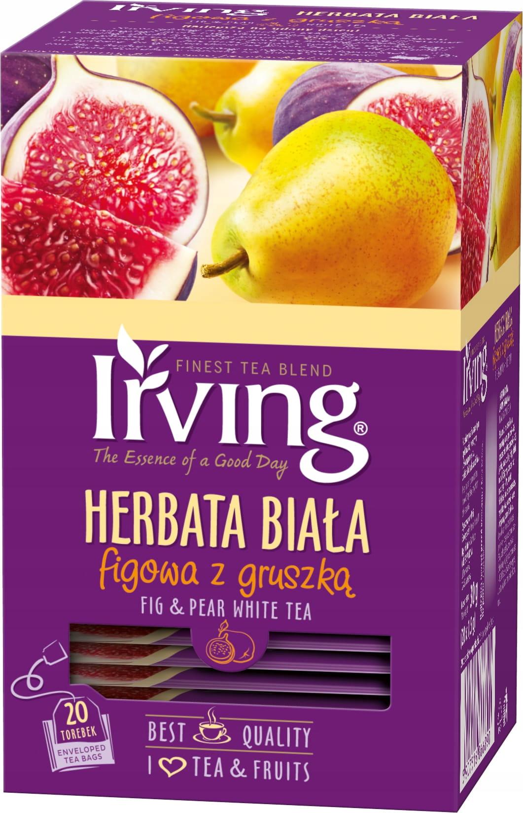 Белый чай сезон 2021 инжир с грушей 20 коп.