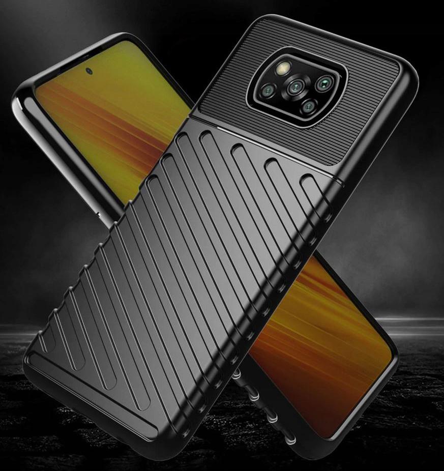 Etui do Xiaomi POCO X3 NFC Pancerne Case + Szkło Producent INNY