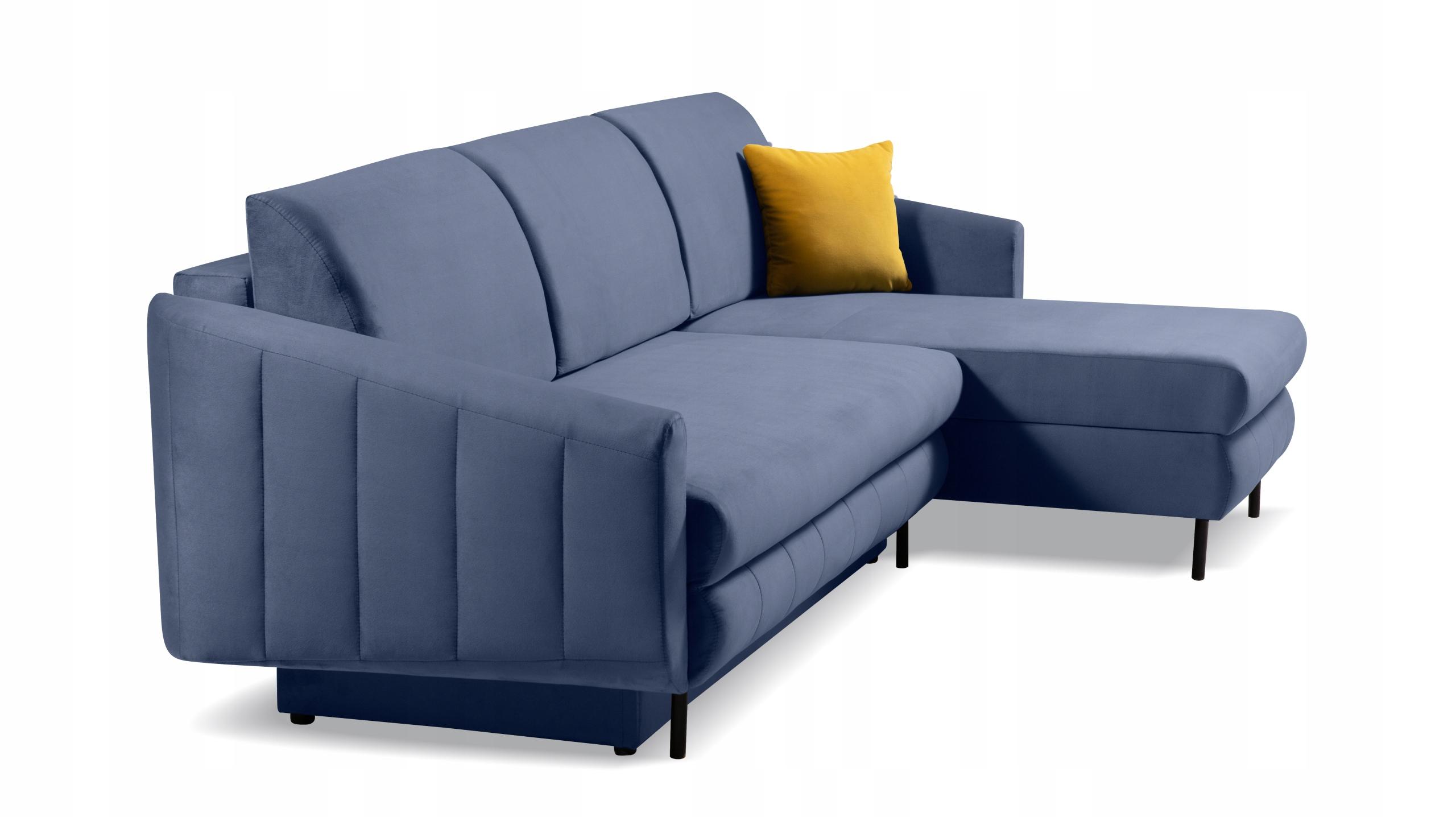 RINGO NEU komfortable Ecke Ecke Wohnzimmer Farbe Die Farbe der Polsterung - Blautöne