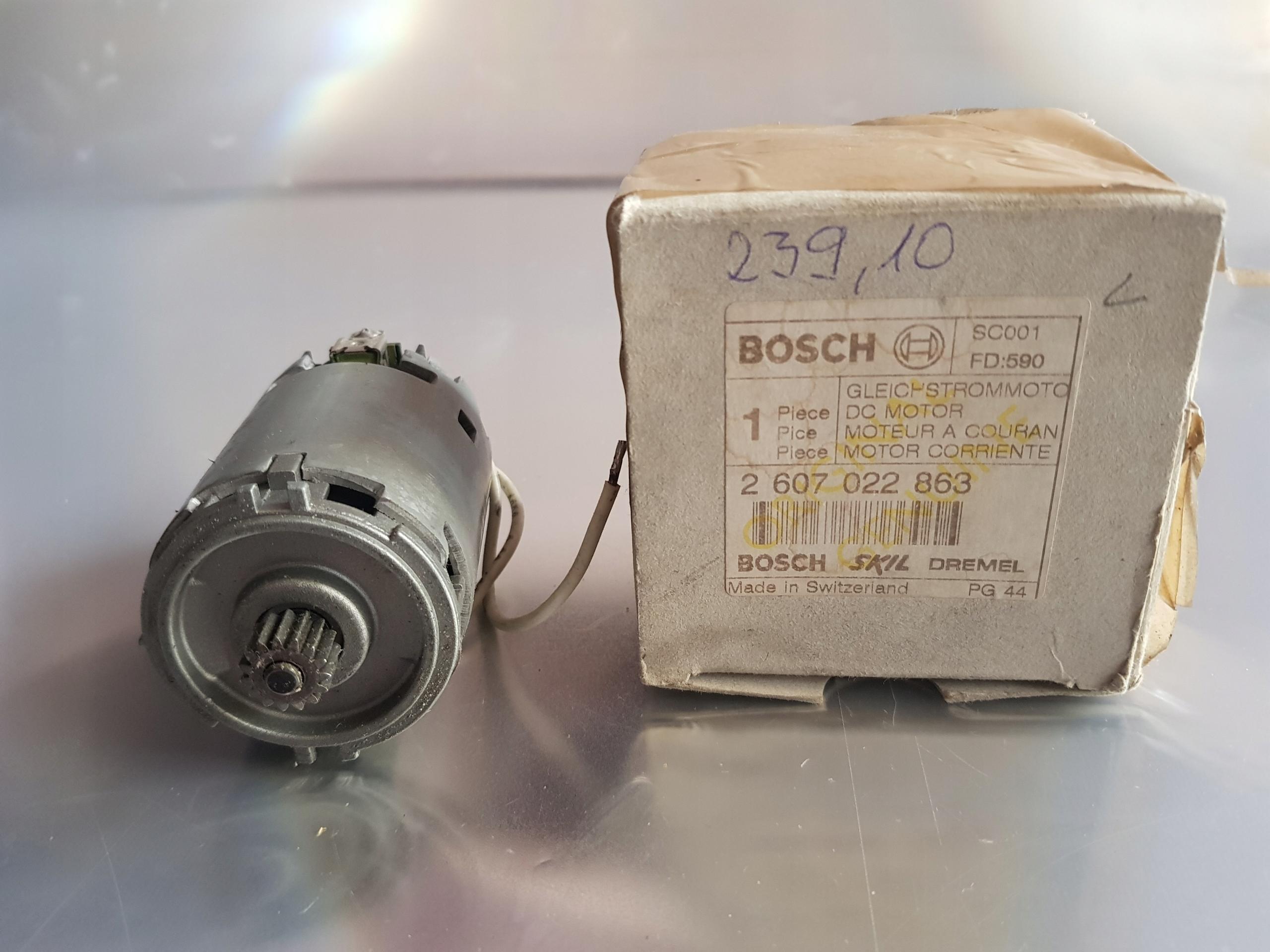 Motor skrutkovača 12V Bosch GSR 12 VE-2 2607022863