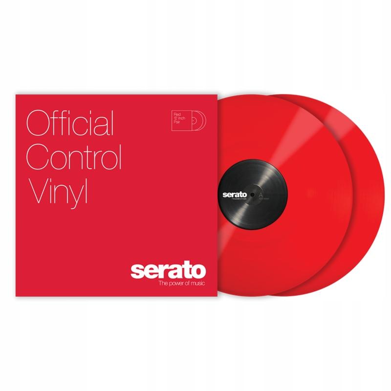 Serato výkon červený pár CD s časovým kódom