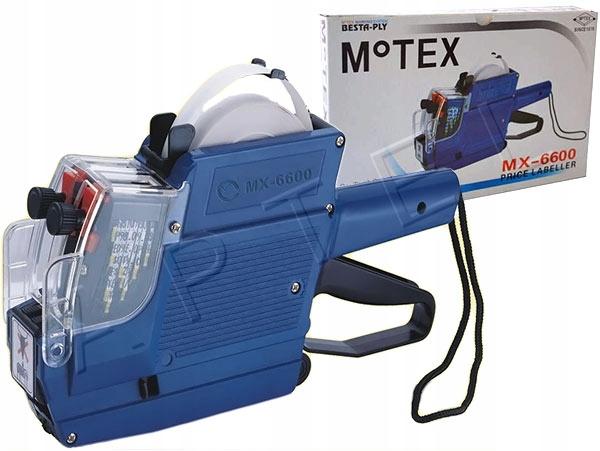 METKOWNICA DWURZĘDOWA 23x16 MOTEX MX-6600 + GRATIS