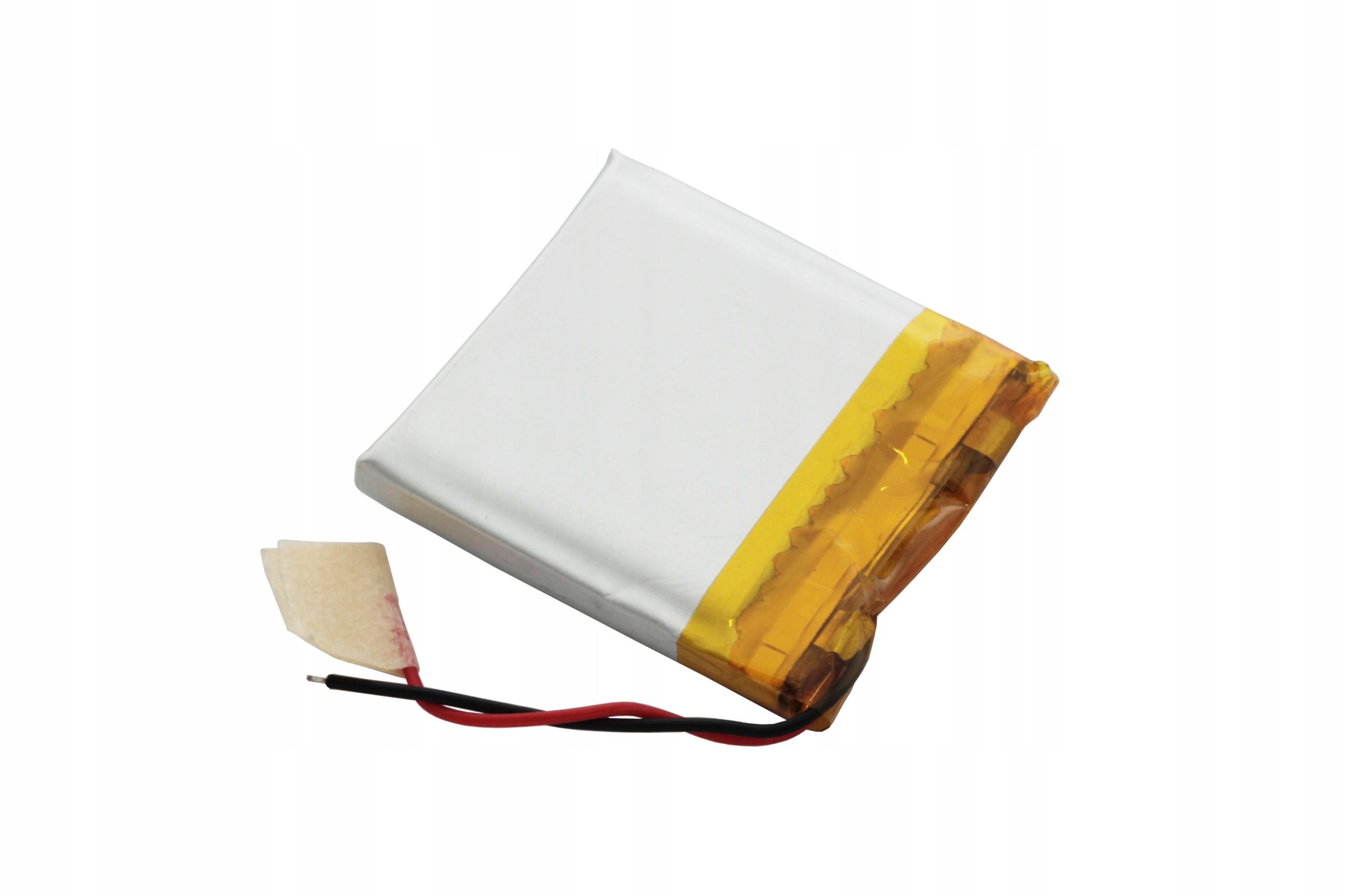 AKUMULATOR PRYZMATYCZNY Li-POLy 3,7V 450mAh 503030 Marka AmElectronics