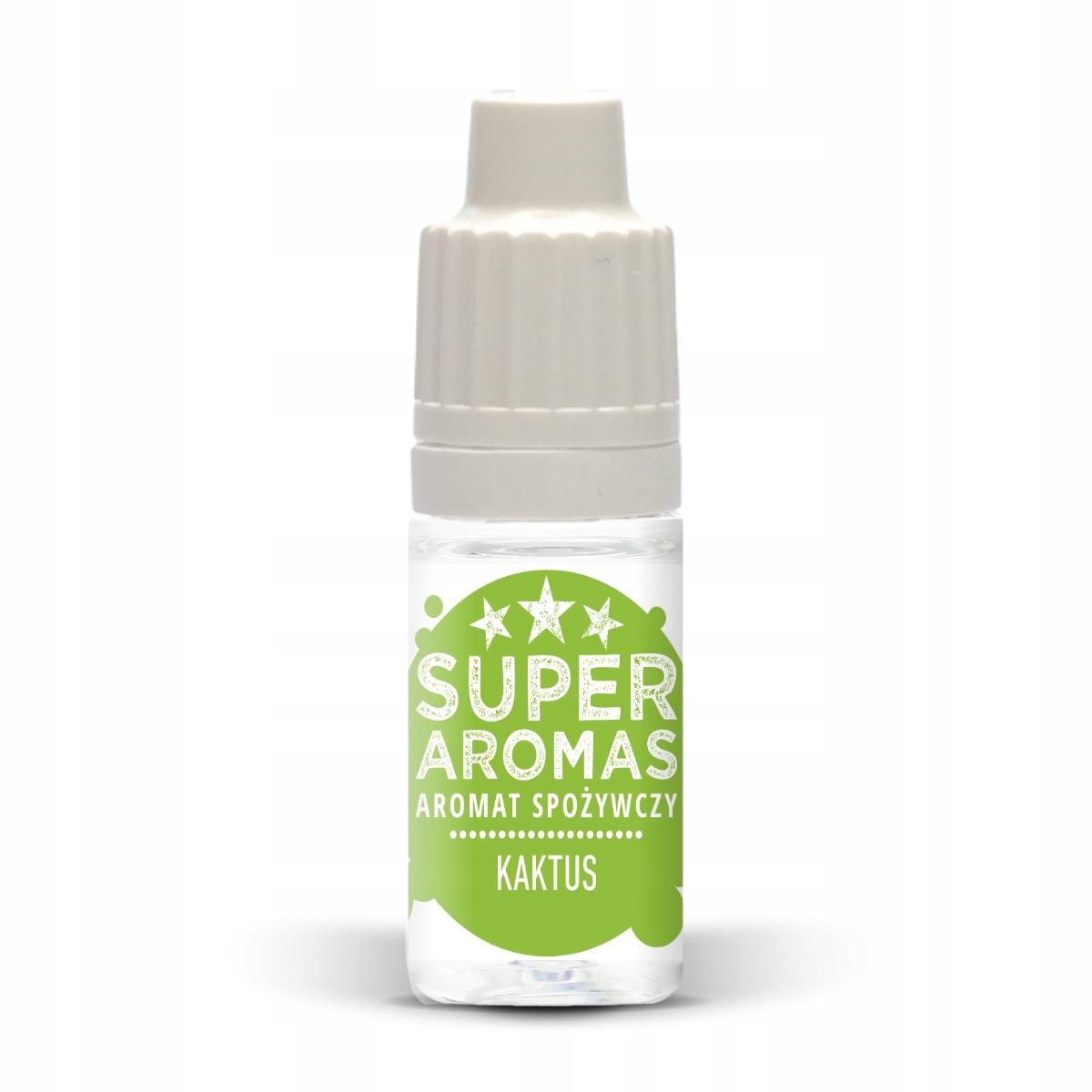 SUPER AROMAS Aromat spożywczy KAKTUS 10 ml