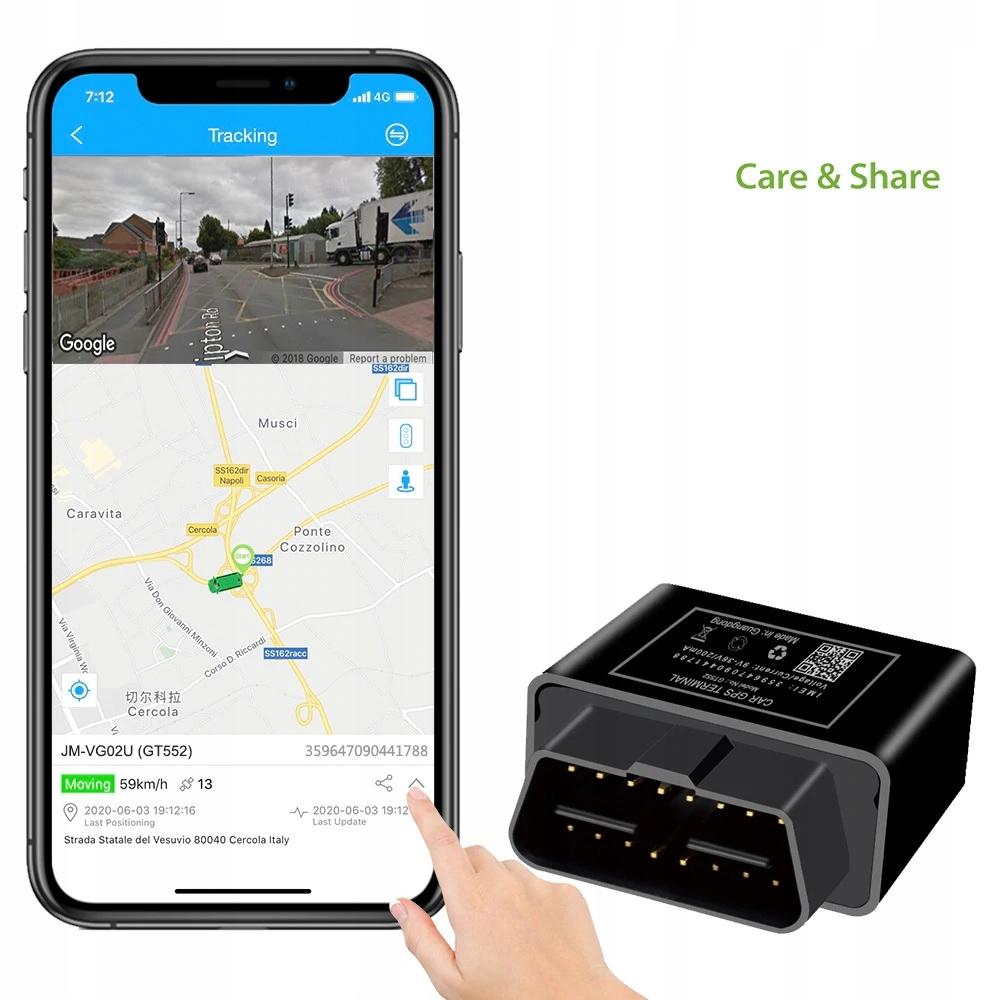 GPS GSM OBD do sledzenia pojazdów Plug & Play Kod producenta xxx