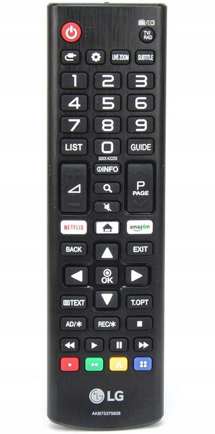 Новый оригинальный пульт дистанционного управления LG AKB75375608 Smart Netflix