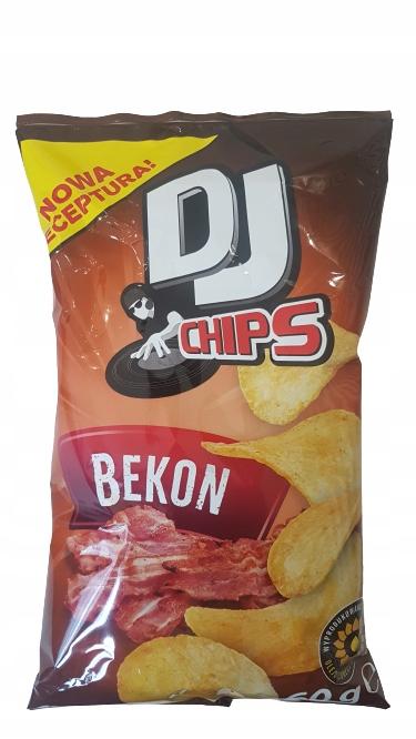 DJ Chips Bacon Картофельные чипсы 60г
