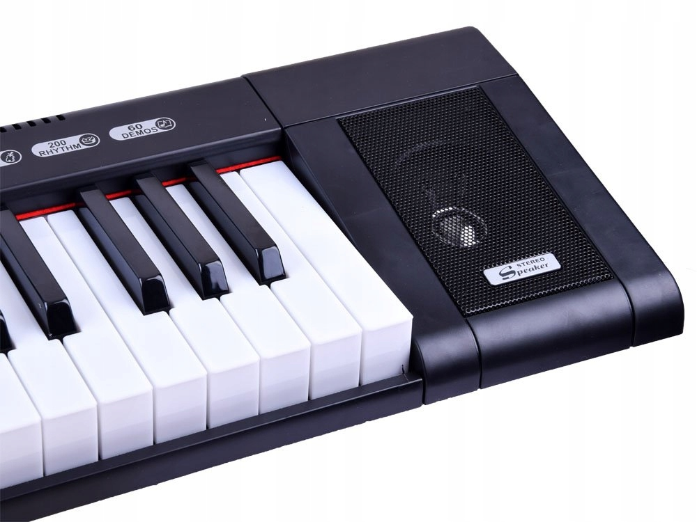 Organy MQ6151L 61 podświetlane klawisze IN0124 Wiek dziecka 3 lata +