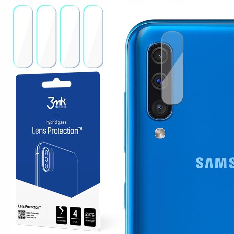Niepękające szkła hybryda obiektyw #3mk Galaxy A50