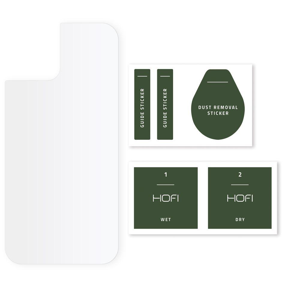 Szkło Hybrydowe Na Tył do iPhone 12 Mini Dedykowany model iPhone 12 Mini
