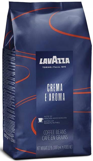 кофе ? зернах Lavazza Креме E Aroma Blue 1 кг