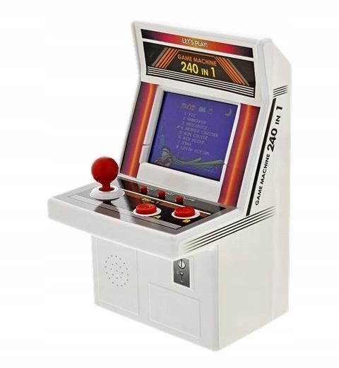Automat pre 240 hier v 1 arkádovej mini retro konzole