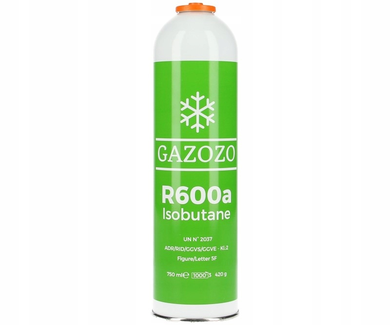 Czynnik chłodniczy gaz R600A 750мл / 420g