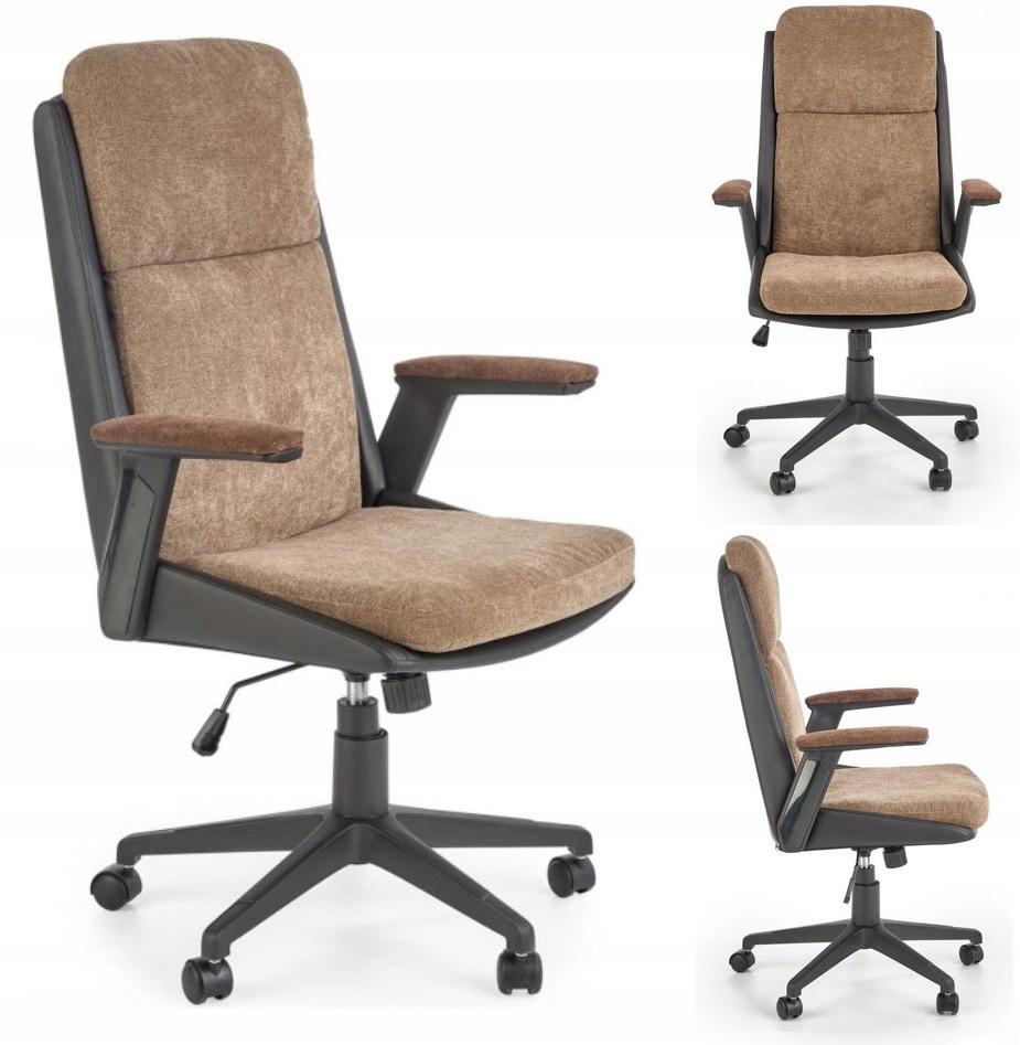 HERBIC Kancelárske stoličky-Brown/Black Otáčavé Kreslo