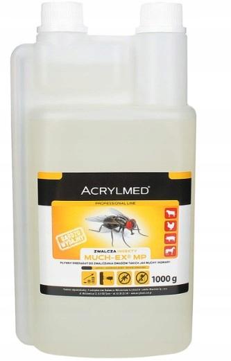 МУЧЕКС 0,5л для насекомых бесцветный для заливки